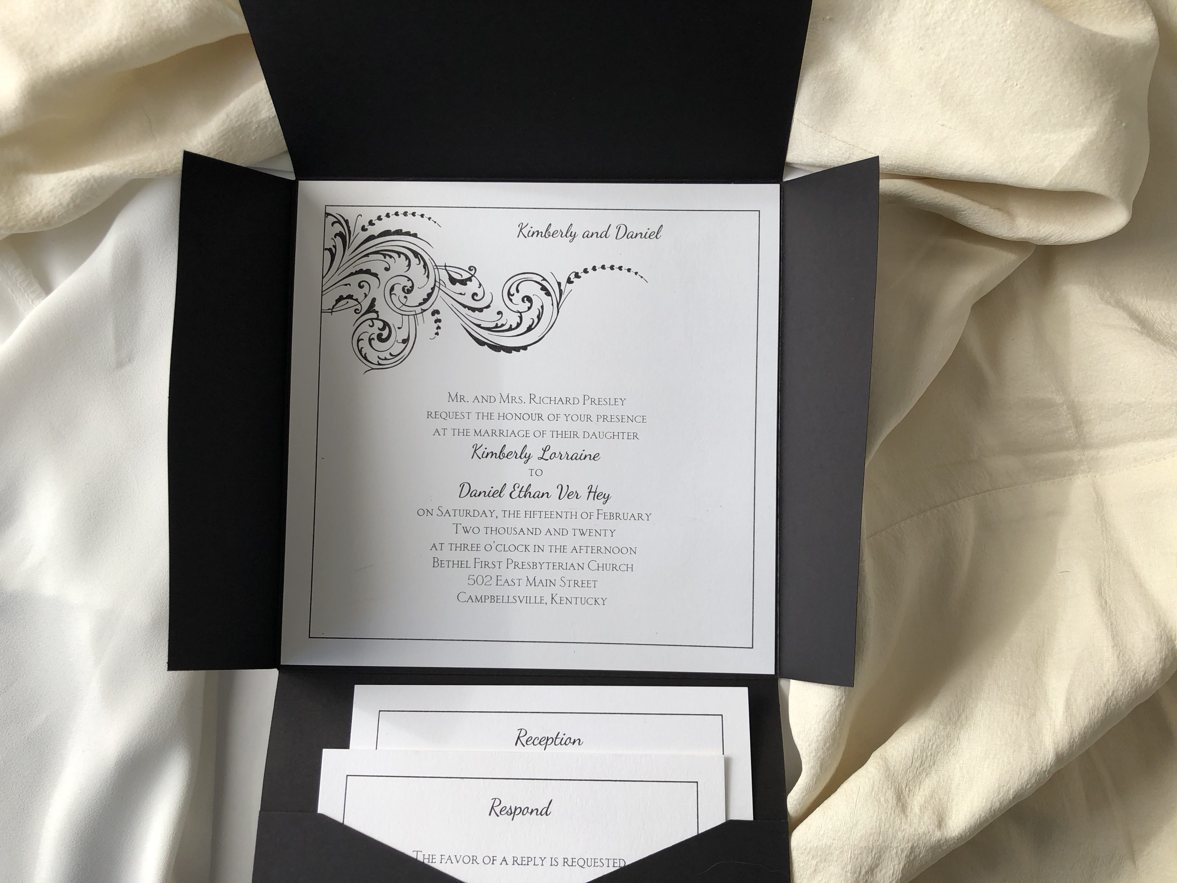 Affordable & Elegant Letterpress and Traditional Wedding Invitations
