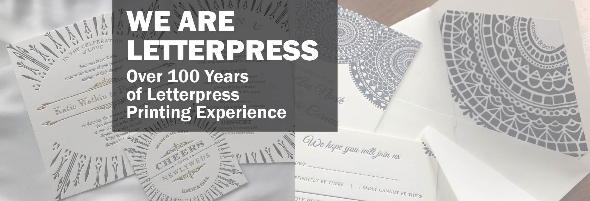 Cheap Letterpress Wedding Invitations: Affordable And Elegant Custom Letterpress Wedding Invitations